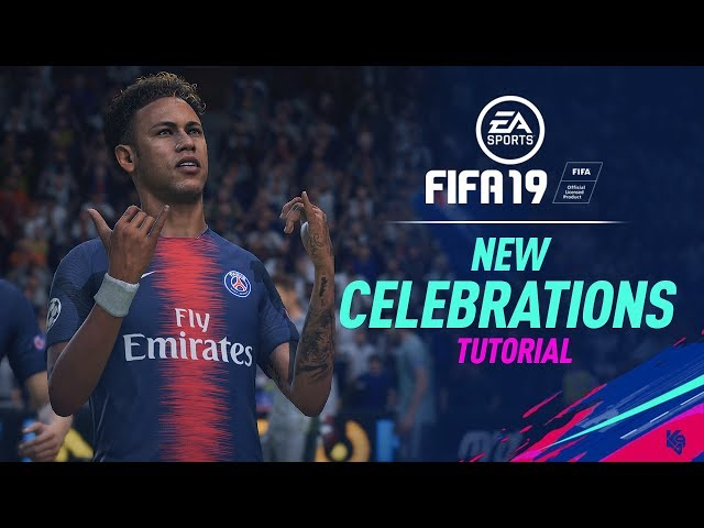 FIFA 19 new celebrations and tutorial, ft Cristiano Ronaldo, Paul