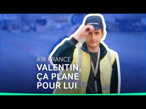Métiers de l'aéronautique - Témoignage de Valentin, Mécanicien aéronautique chez AirFrance #shorts