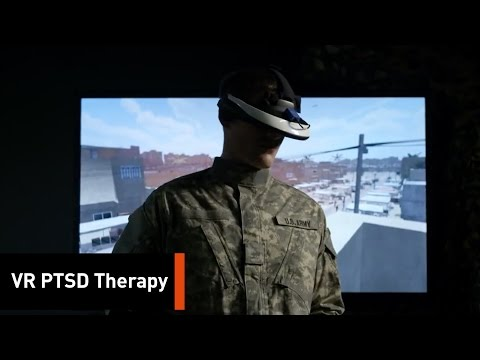 Free virtual reality therapy for veterans