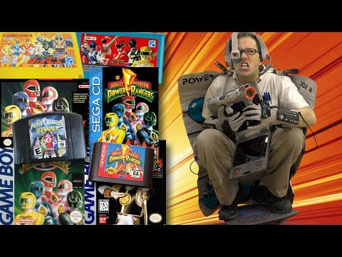 Mighty Morphin Power Rangers - Angry Video Game Nerd: Episode 144