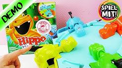 HIPPO FLIPP Spiel deutsch | WER FRISST AM MEISTEN? Flusspferd Wettessen