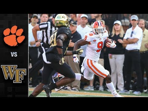 Clemson vs. Wake Forest Football Highlights (2018)