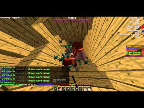 Shotbow [Annihilation] Rush with NataliaMC - Scout and Acrob