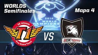 ROX TIGERS VS SKT TELECOM T1 - #WorldsSemis - World Championship 2016 - Mapa 4 - Semis