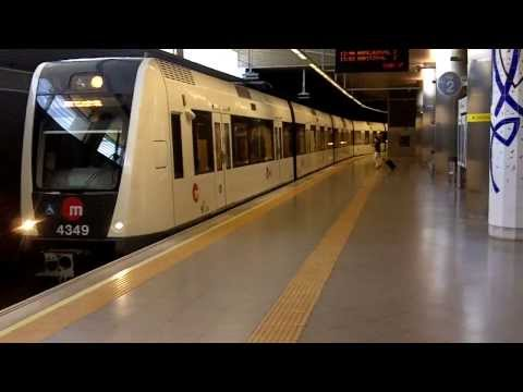 Valencia Airport Metro Station