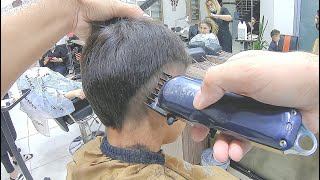 boy's hairstyle and hair cutting, amazing video, learn haircuts!