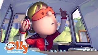 Cars for Kids -  Music on Wheels | Transport for Kids | Olly the Little White Van