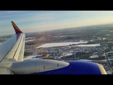 Southwest Airlines Boeing 737-700 (N761RR) Landing In Columbus