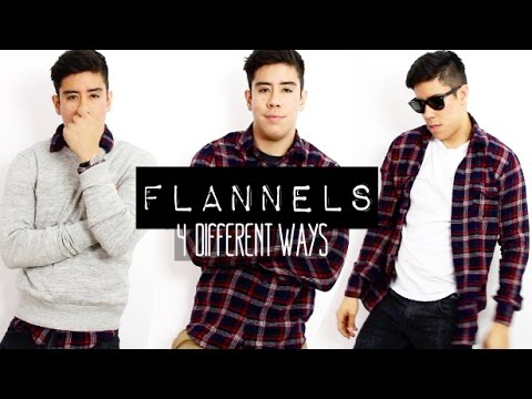 How to wear a flannel shirt 4 different ways men 39 s for How to wear men s flannel shirts