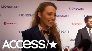 Blake Lively On Working With Paul Feig & Anna Kendrick In 'A Simple Favor' | Access