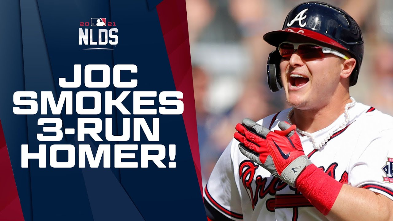Joctober: Pederson's pinch-hit blast gives Braves 2-1 NLDS lead ...