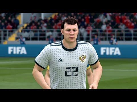 СБОРНАЯ РОССИИ В FIFA 19
