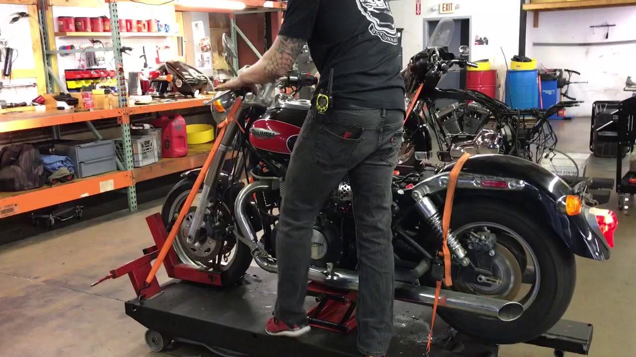 2008 Triumph Speedmaster Blk Red 2177 Fallen Cycles