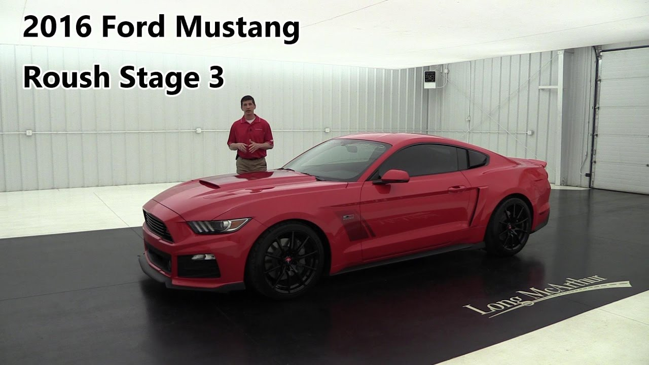 2016 ford mustang roush stage 3 phase 2 auto youtube. Black Bedroom Furniture Sets. Home Design Ideas