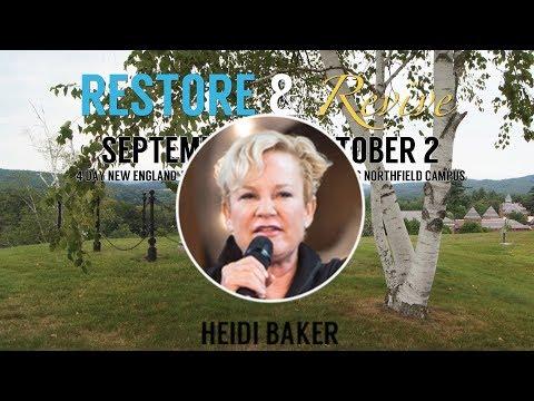 Heidi Baker's, Message at Restore & Revive, Northfield, Monday Evening, Oct 2, 2017