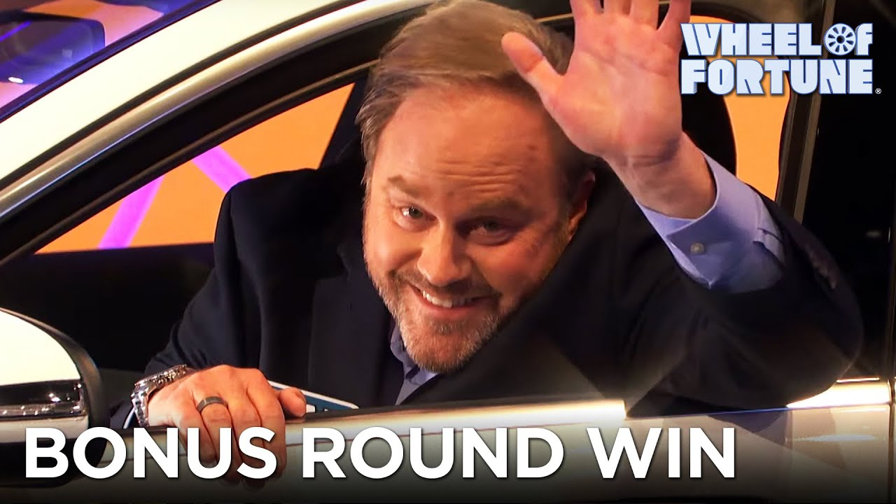 Mark Closes Out the Season With a Bonus Round Win | Wheel of Fortune