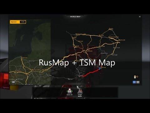 ETS RusMap V TSM Map V YouTube - R us map