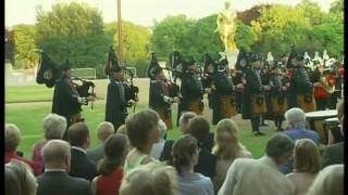 Beating Retreat by Royal Irish Regiment and The Band of The Dragoon Guards