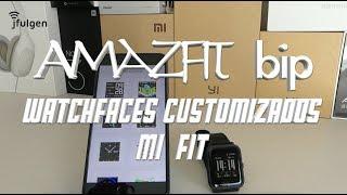 AmazFit Bip - Instalar Watchfaces Customizados con MiFit