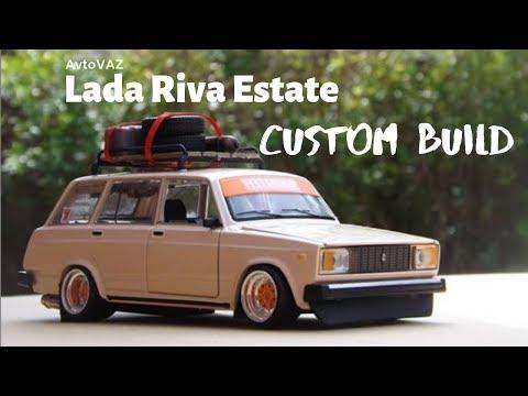 Lada Riva Estate 1/24 scale custom build