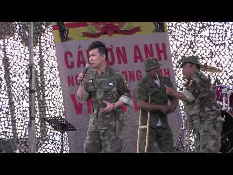 Dai Nhac Hoi Cam On Anh ky 8 Nguoi Thuong Binh (Anh Bang) Dang The Luan
