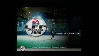 "[Ps2] Introduction du jeu ""LFP Manager 2005"" de EA Sports (2004)"