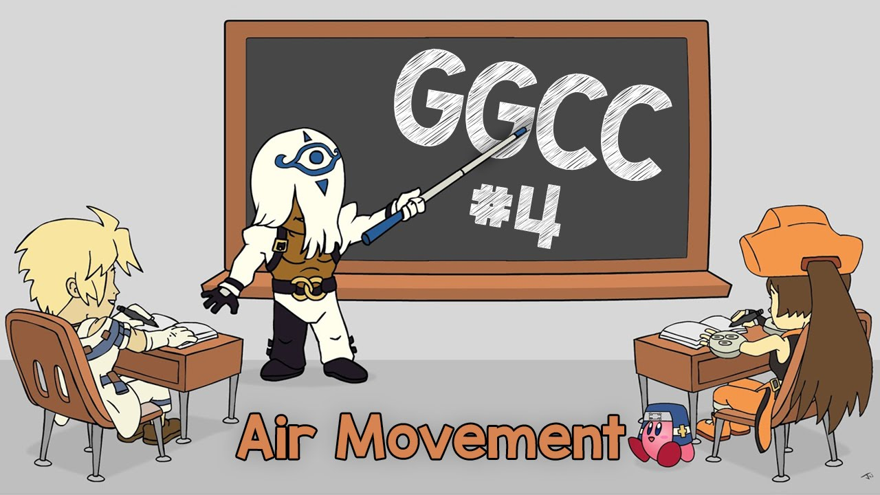 Guilty Gear Crash Course ep.04: Air Movement