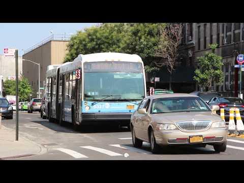 2012 Novabus LFSA #5337 on the (M) Shuttle #3 at Flushing Avenue and Bushwick Avenue