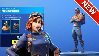 *NEW* UNLEAKED MAXIMILIAN & AIRHEART SKINS! [ITEM SHOP] FORTNITE BATTLE ROYALE