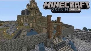 Minecraft PlayStation 3 Edition GamePlay Po Polsku PS3 Minecraft 1# Powrot - Skyrim