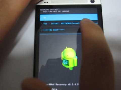 HTC One 802W 802D 802T Dual Sim Update the Rom - YouTube