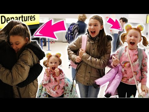 SURPRISE HOLIDAY DESTINATION REVEAL AT THE AIRPORT! NEW YORK DAY 1!
