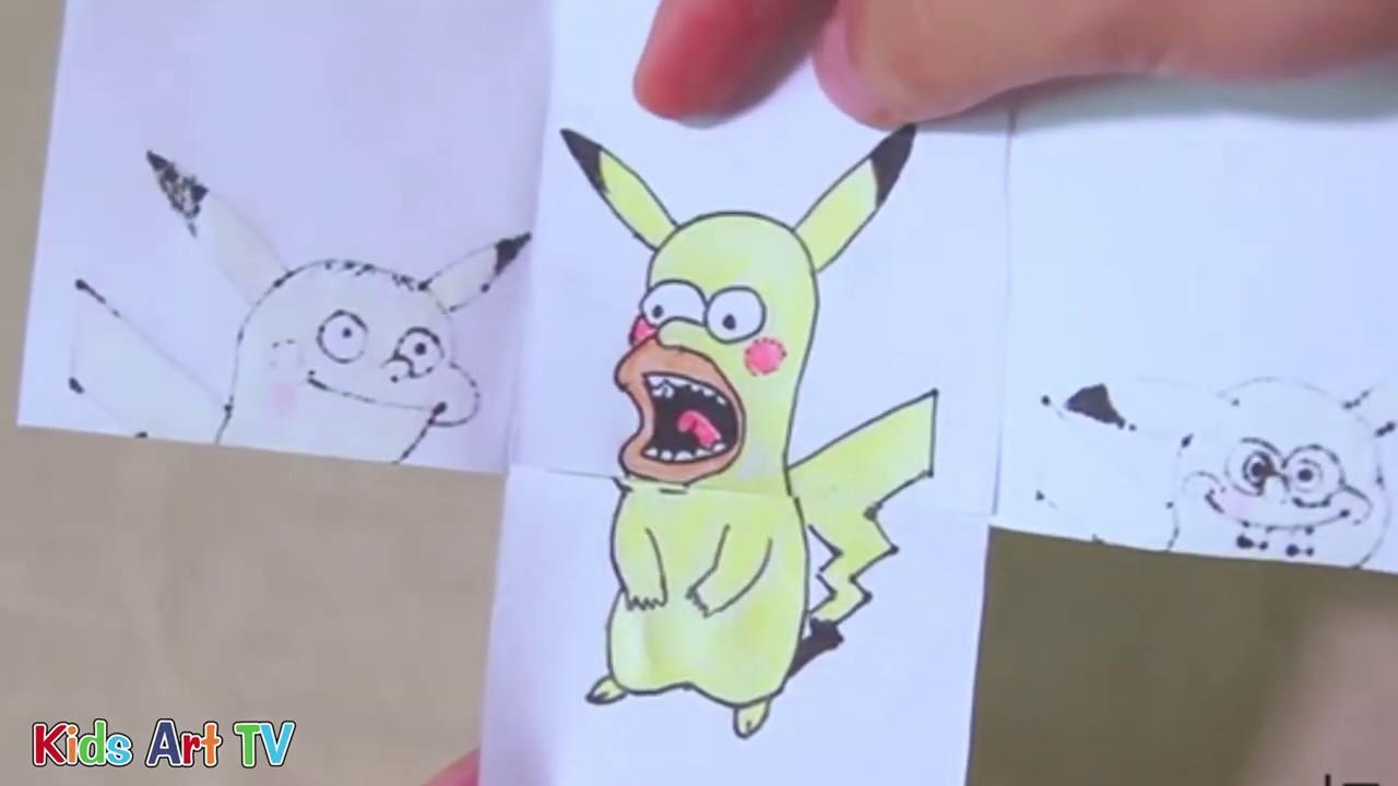 Hướng Dẫn Vẽ Pokemon Siêu Đẹp