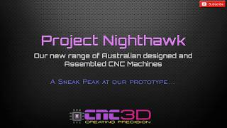 Nighthawk CNC Coming soon to our 3D store!!