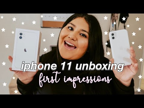 Iphone 11 Unboxing + First Impressions!!!