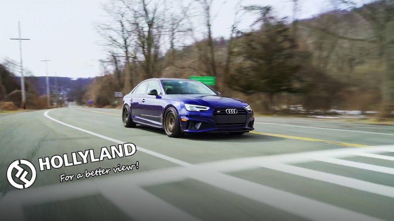 Audi S4 On TE37's w/Hollyland Mars 400S PRO