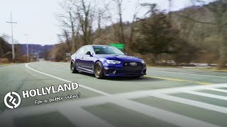 Audi S4 On TE37's w/Hollyland Mars 400S PRO