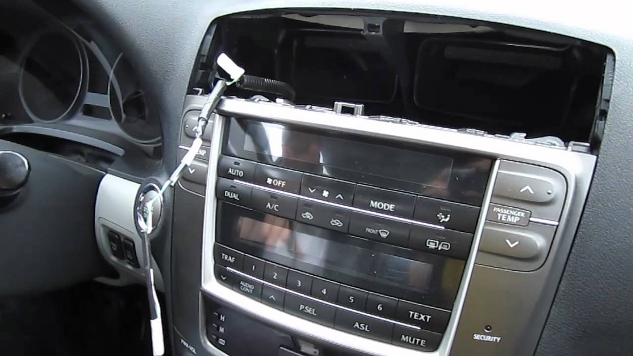2010 lexus is250 sound system