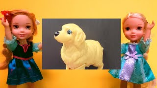 Download Lost dog ! Will Elsa & Anna toddlers find their pet?