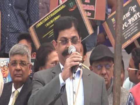 IMA Satyagraha at Jantar Mantar, New Delhi