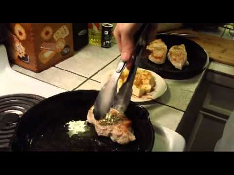 Cast Iron Cooking: Pork Chops With Sauerkraut