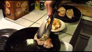 Cast Iron Cooking: Pork Chops With Sauerkraut