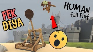 CASTLE TOD DIYA - Human Fall Flat Funny Game Hindi