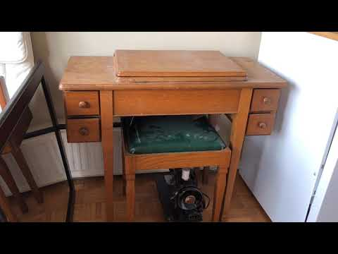 SEWING CABINET & TABLE SERIES #1: Taking A Look At Sewing Tables Whose Quality Is Beyond Compare!!
