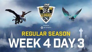[Full Event] ONE Esports Dota 2 SEA League - Regular Season - July 11
