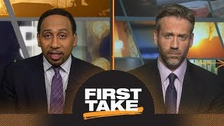 Stephen A. and Max react to NBA All-Star Game starters | First Take | ESPN