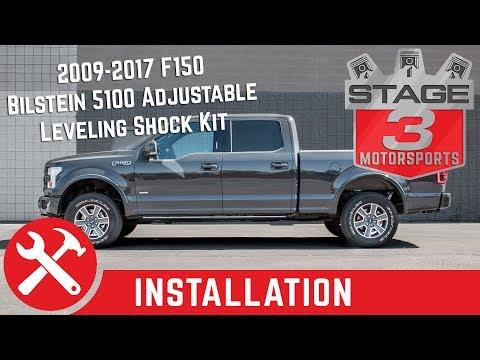 2009-2017 F150 4WD Bilstein 5100 Adjustable Leveling Shock Kit Install
