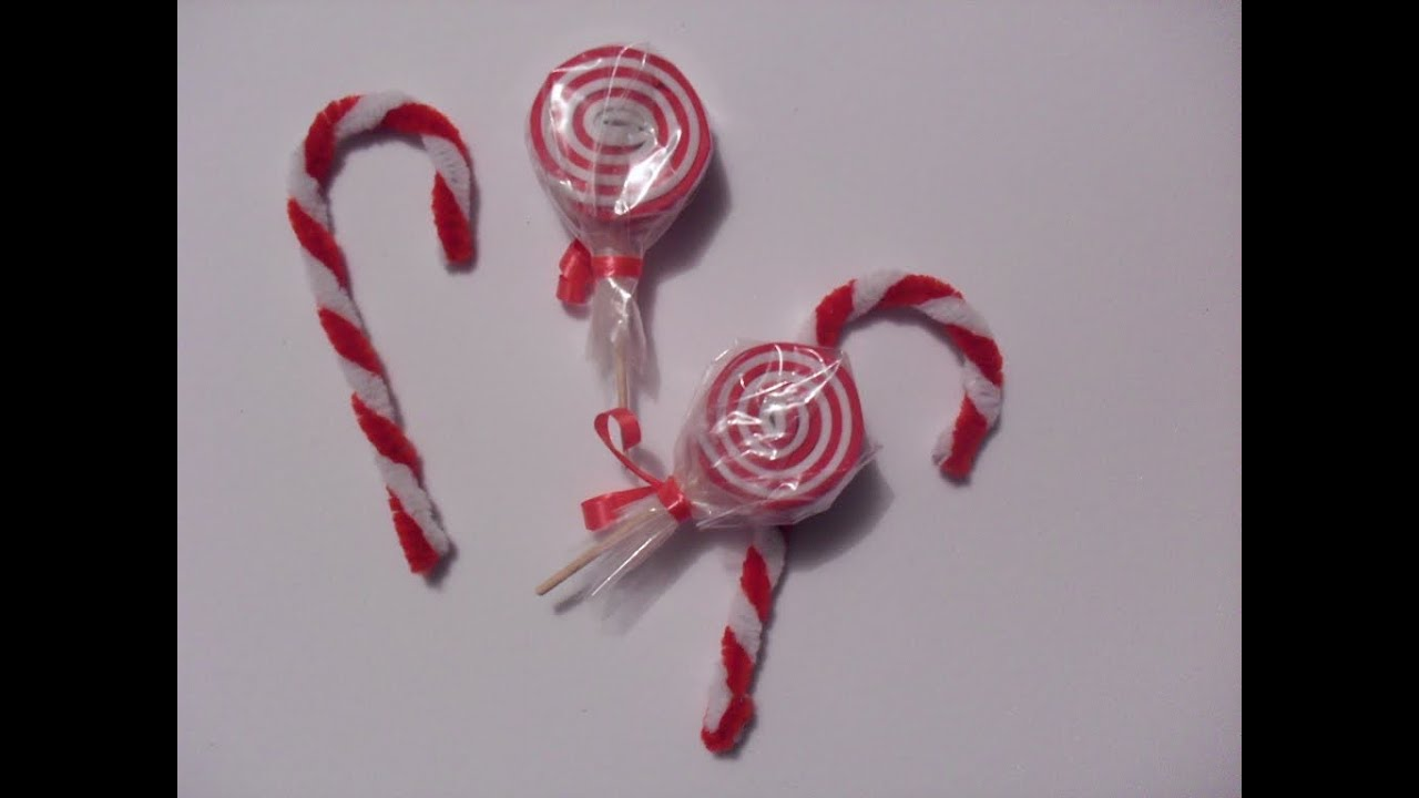 Caramelos Paleta//Baston [ACCESORIOS] - YouTube