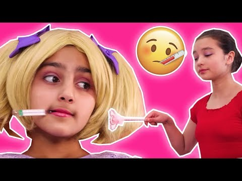 Sick Day Routine 🤧 Princess Isabella Can't Stop Sneezing! - Princesses In Real Life | Kiddyzuzaa