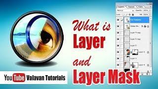 Photoshop Class 30th Day in Tamil | What is Layer and Layer Mask in photoshop